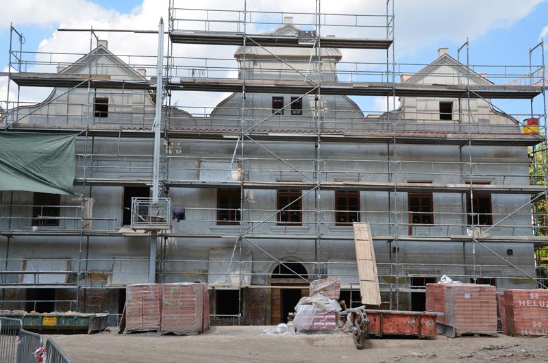 2011 Praha vila Kajetánka – rekonstrukce | Stavební činnost